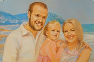 Часто скучаете по своим деткам? Закажите портрет!