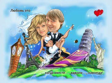 Портрет по фото заказать в Казани
