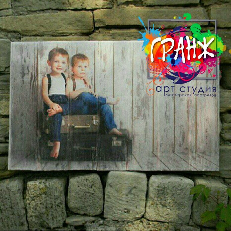 Картины на досках и портреты на дереве в стиле лофт на заказ купить…